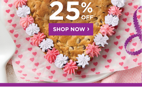 Come Back and Get 25% Off