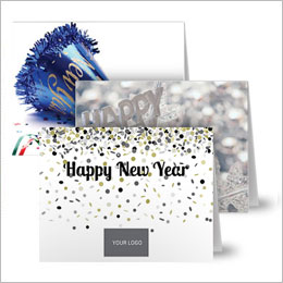 New Year's Note Cards