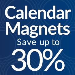 Calendar magnets sale!