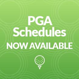 PGA Schedules