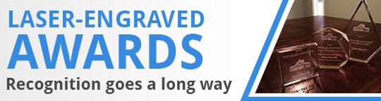 Laser-Engraved Awards