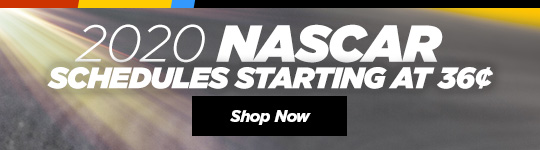 2018 NASCAR Schedules. Starting at 36 cents. Shop Now