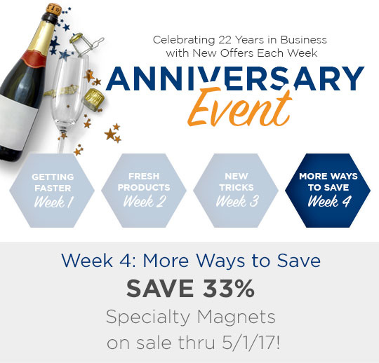 Anniversary Event: More Ways To Save