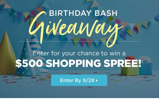 Birthday Bash Giveaway