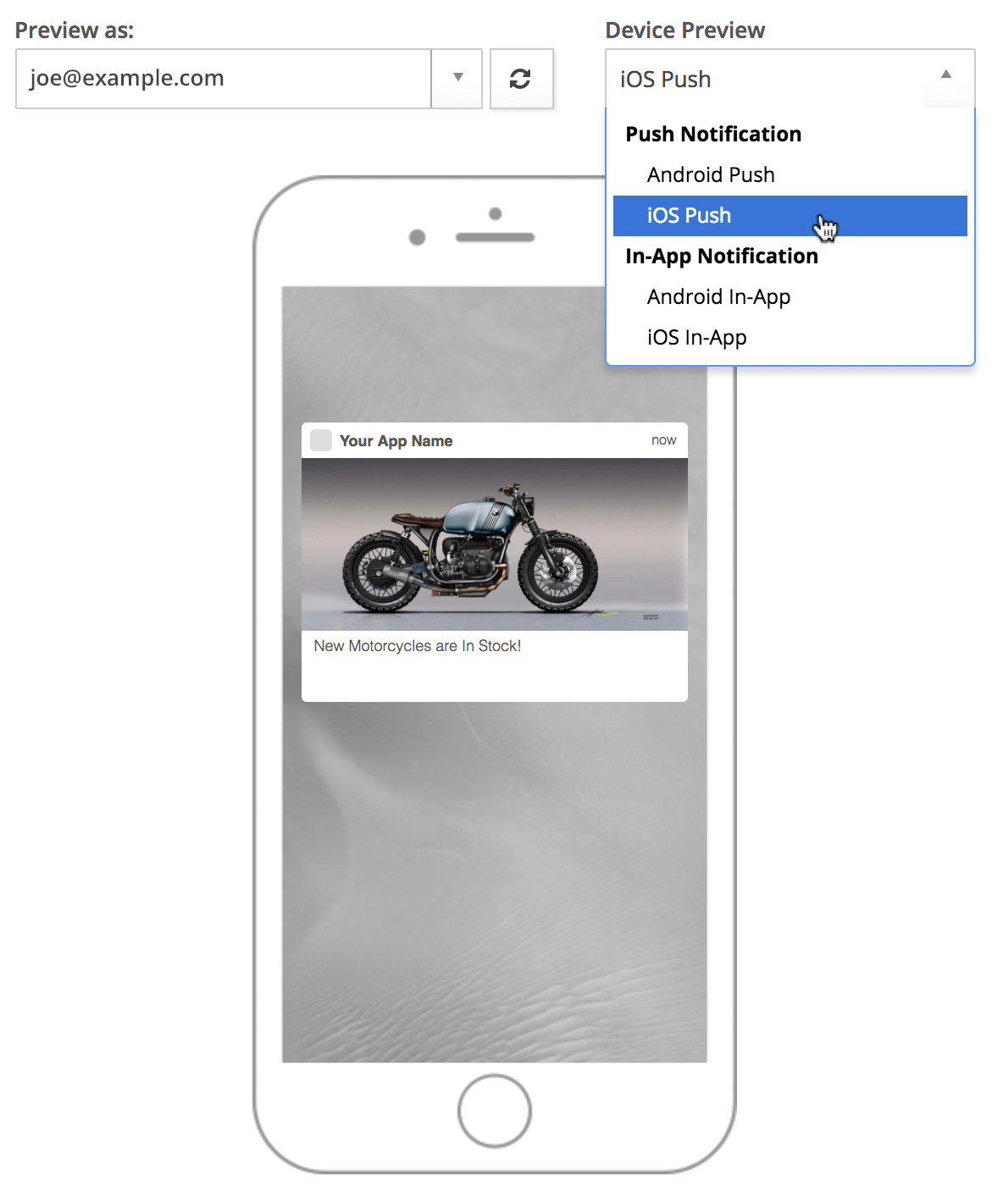 Mobile Push Channel Content – Cordial Knowledge Base