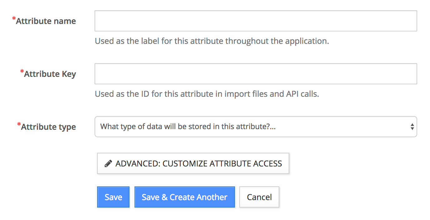 Add Contact Attributes