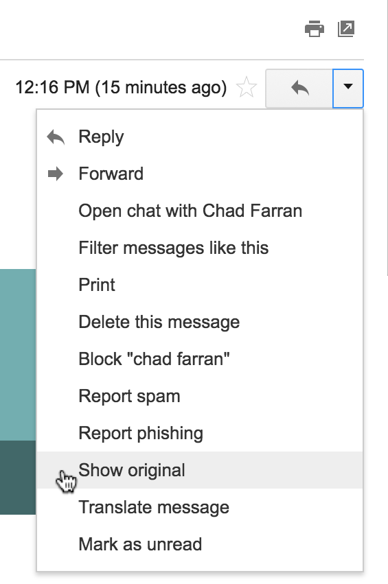 How Do I View And Forward The Original Message Html In An Email