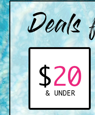 Shop Men's Deals $20 & Under