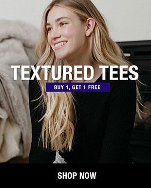 Shop Women's Textured Tees