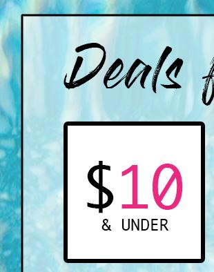 Shop Women's Deals $10 & Under