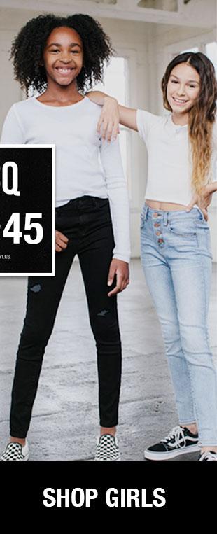 Shop Girls' RSQ Jeans
