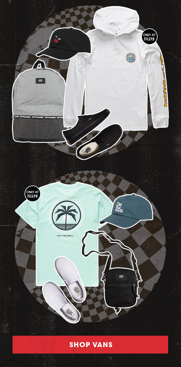 NEW FROM VANS - Shop Now