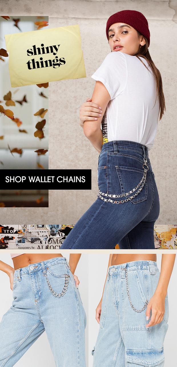 Shop Women's Wallet Chains