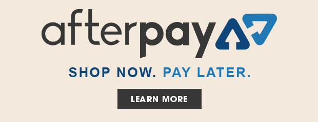 Introducting Afterpay. Shop Now. Pay Later. - Learn More