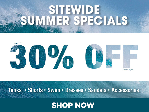 Shop Our Summer Sale & Save