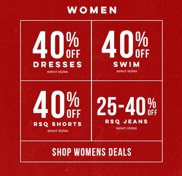 Shop Women's Deals