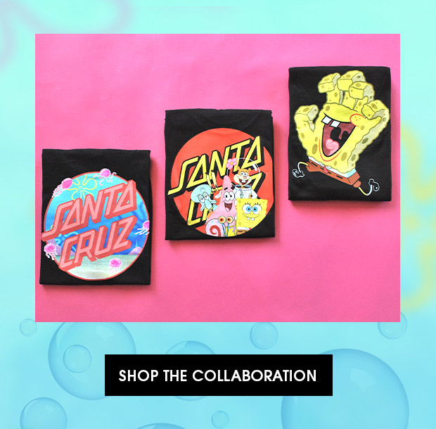 Shop Men's Spongebob's x Santa Cruz's Collaboration