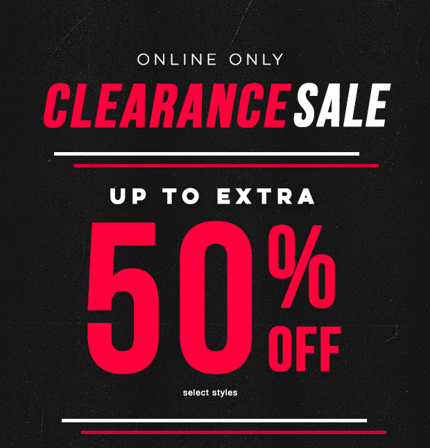 EXTRA 50% OFF SALE - Shop Now
