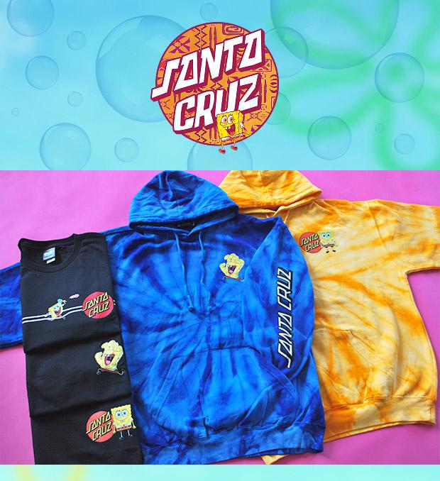 SANTA CRUZ x SPONGEBOX COLLABORATION - Shop Now