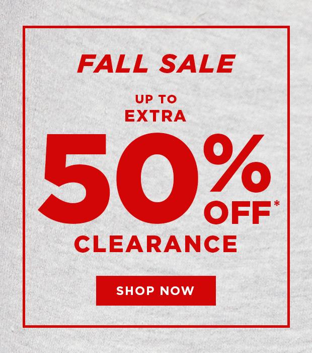 Shop Clearance Sale 50% Off
