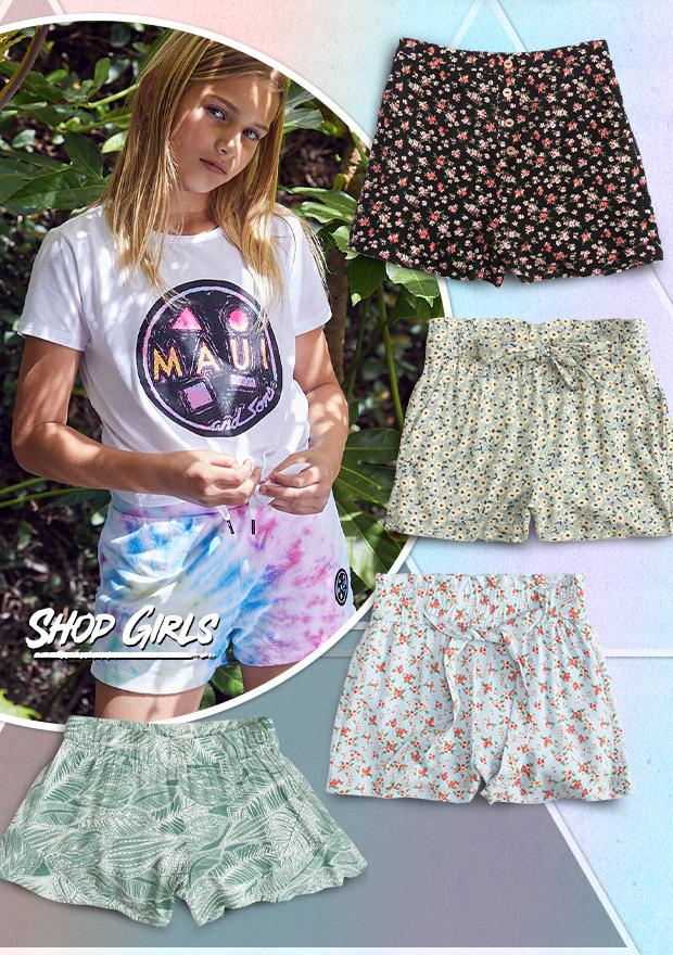 Shop Girls' Shorts